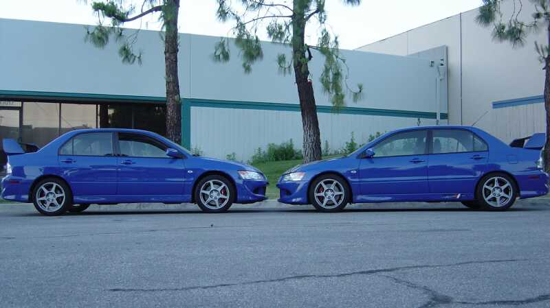 Road race engineering 39 s evo 8 9 parts and performance