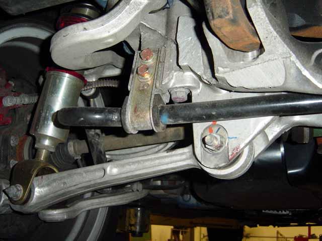 Road Race Engineering S Evo 8 Rear Sway Bar