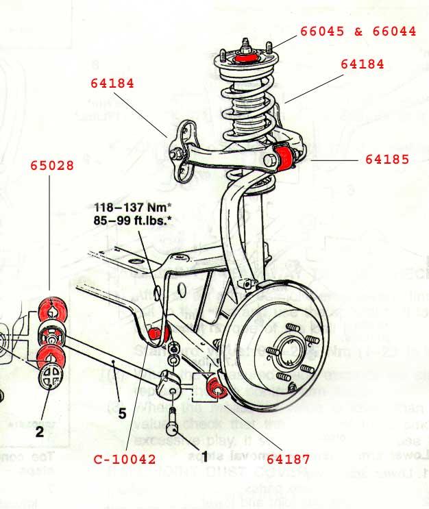 help! rear suspension bushings   DSMtuners