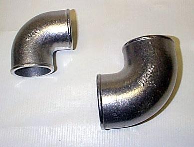 2  90 Degree Elbow & RRE Mandrel Bent Exhaust Bends and Intercooler Bends
