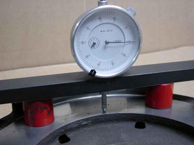 flywheel resurface machine